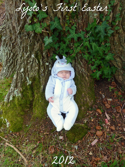 Our Littlest Easter Bunny…