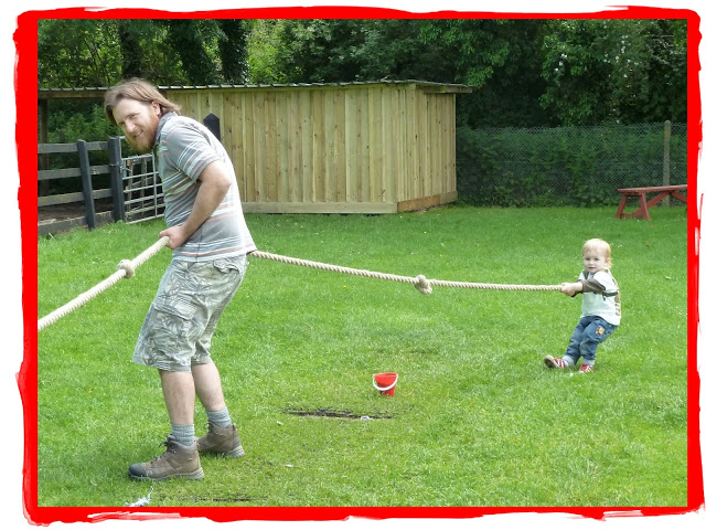 A Day Out On The Farm (Part III): Tug of War