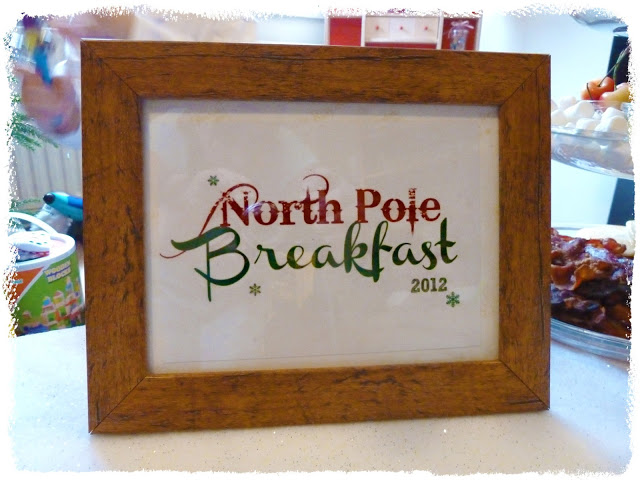 North Pole Breakfast…. A Tradition is Born!