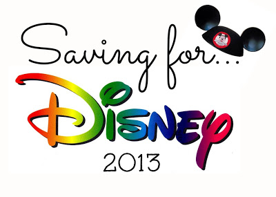 Saving For Disney…. Month One