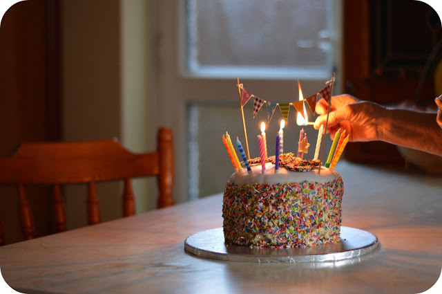 Huffing and Puffing….The Birthday Tea…