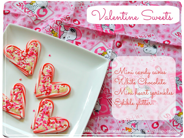 Valentine Sweets…. Better Late Than Never!