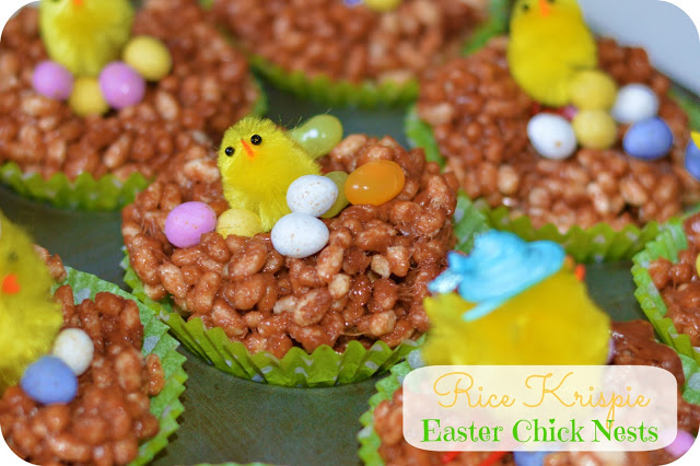 Easter Memories 2013: The Rice Krispie Chick Nests (DIY Post)