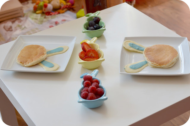 Easter Memories 2013: Bunny Pancakes