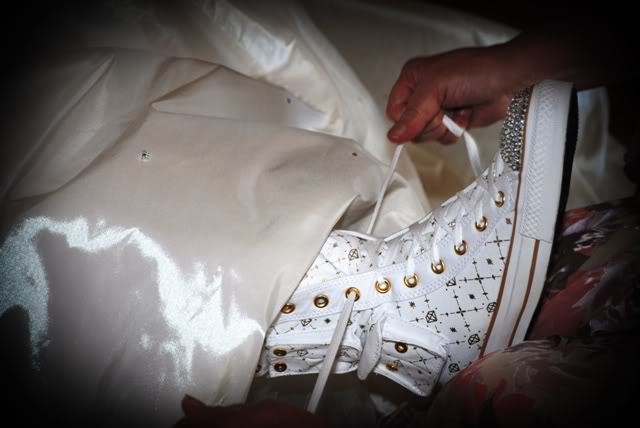 Our Walt Disney Fairytale Wedding (Series): Wedding Day…The Boots Are On…