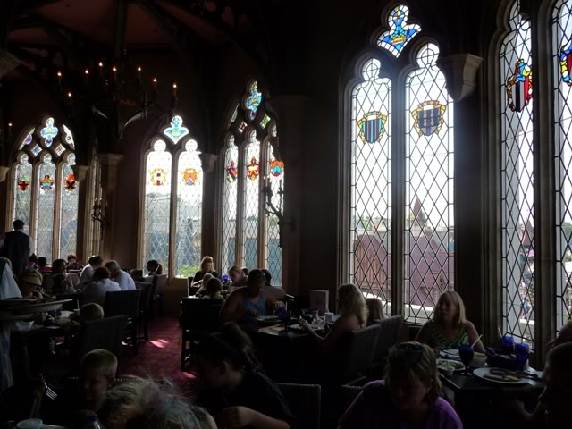 Our Walt Disney Fairytale Wedding (Series) August 4th: Our Last Single Dinner at Cinderella's Castle.