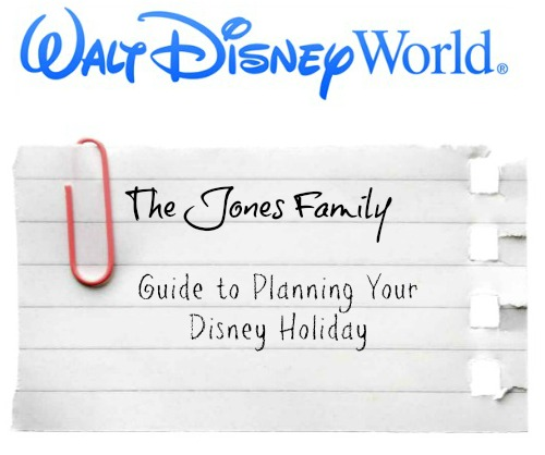 The Jones Family Guide to Planning Your Walt Disney World Holiday (Introduction)