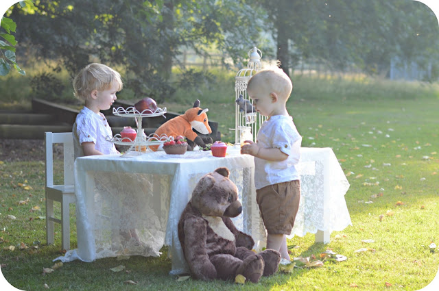 FAIRYTALES CAN COME TRUE…IT CAN HAPPEN TO YOU [A CHOCOLATE TEA PARTY]