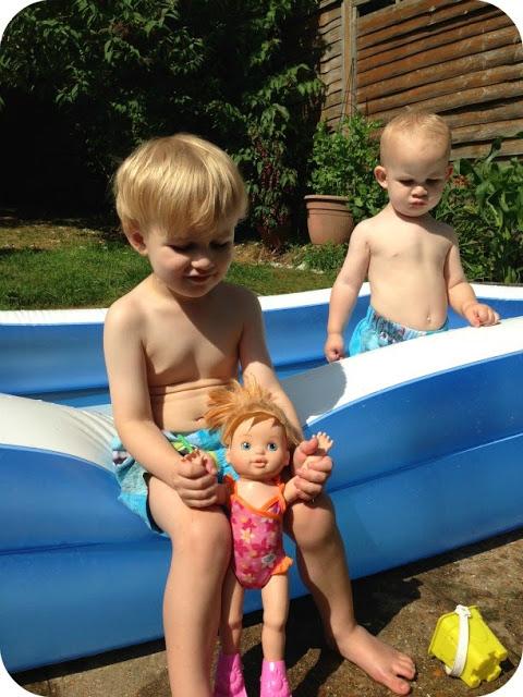 My Baby Born I Can Swim Doll Zapf Creation Keep Up