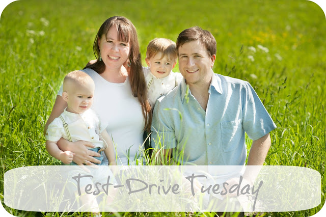 INTRODUCING TEST DRIVE TUESDAY