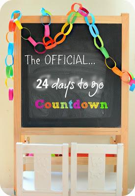 Countdown to Disney… 24 Days