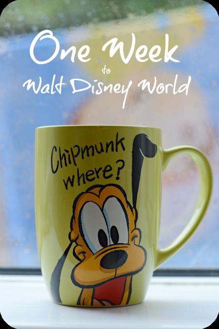 COFFEE CUP COUNTDOWN: ONE WEEK TO DISNEY!