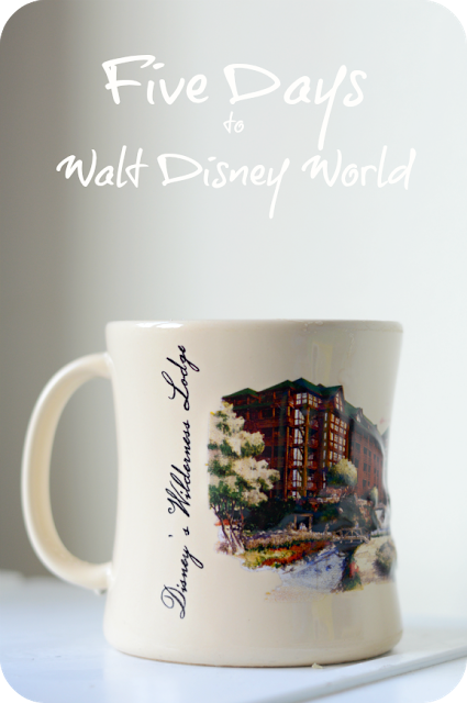 COFFEE CUP COUNTDOWN: FIVE DAYS TO DISNEY!