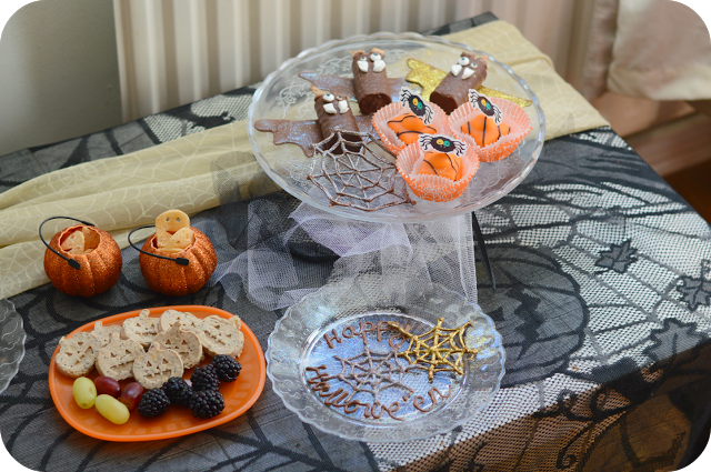 CHOCOLATEY THINGS THAT GO MUNCH IN THE NIGHT: A HALLOWEEN PARTY