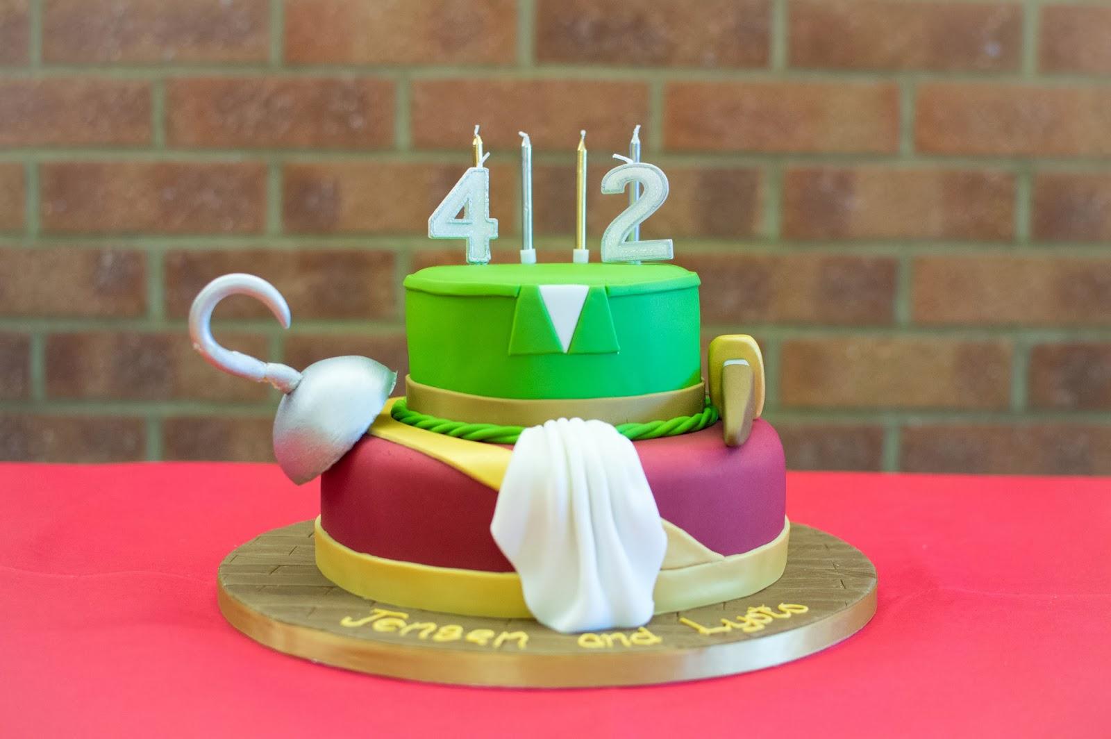 FAITH, TRUST & EDIBLE PIXIE DUST: OUR NEVERLAND BIRTHDAY ...