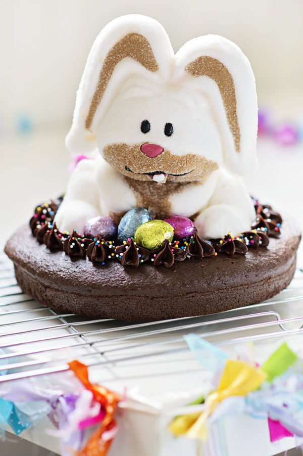 Wordless Wednesday… Easter Bunny Cake