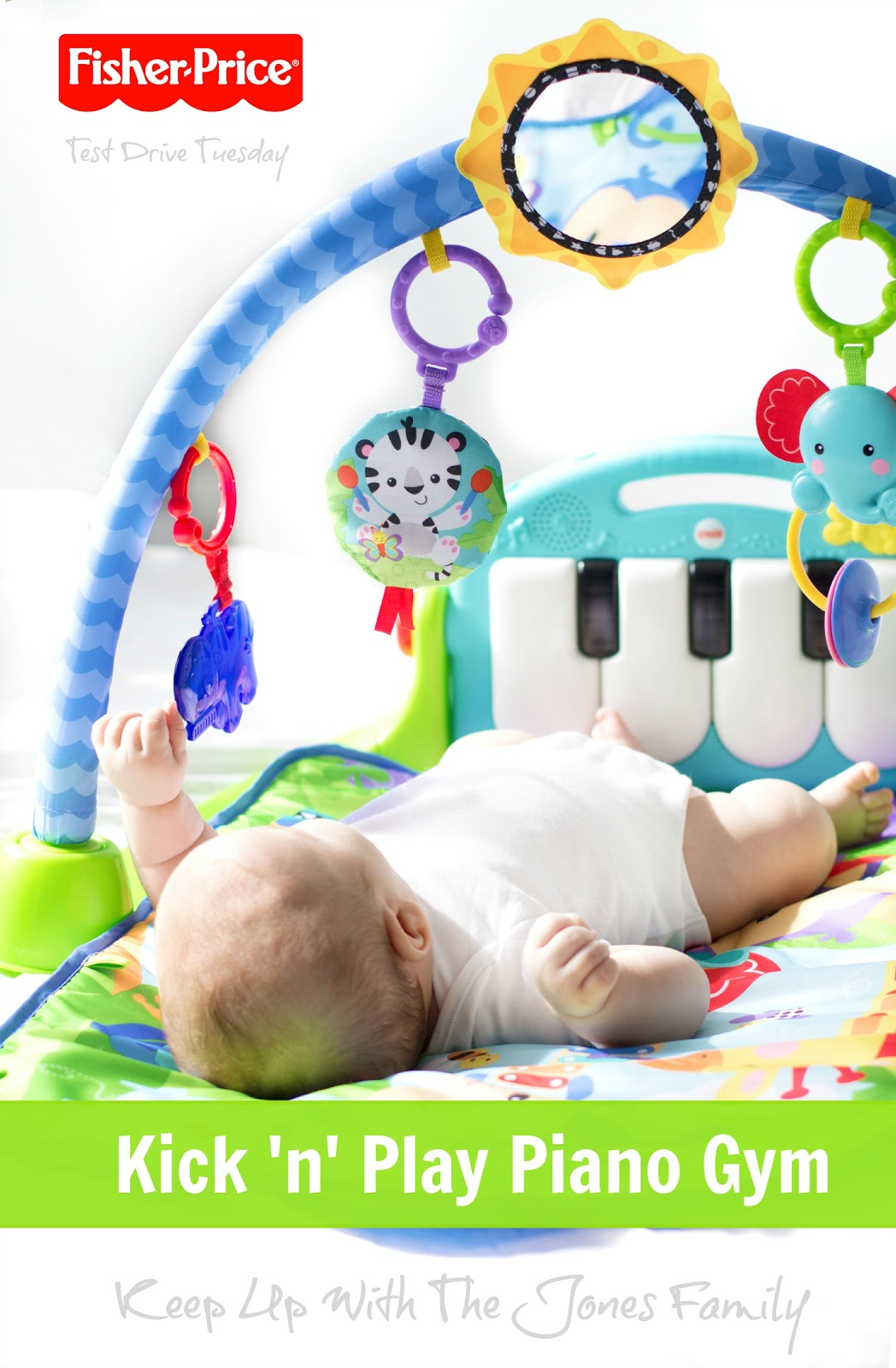 Fisher Price Kick N Play Baby Piano Gym Mat Keep Up