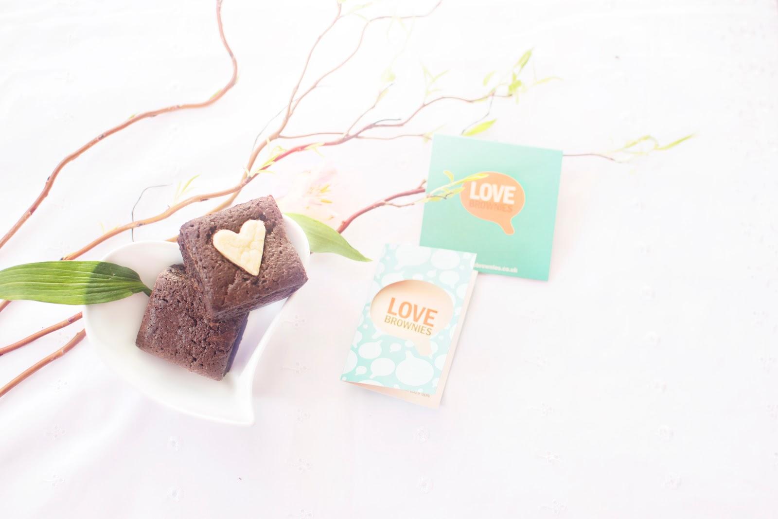 A LI'L SOMETHING SWEET: LOVE BROWNIES