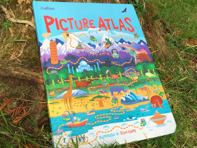 Collins Big Cat Reading Lions Picture Atlas