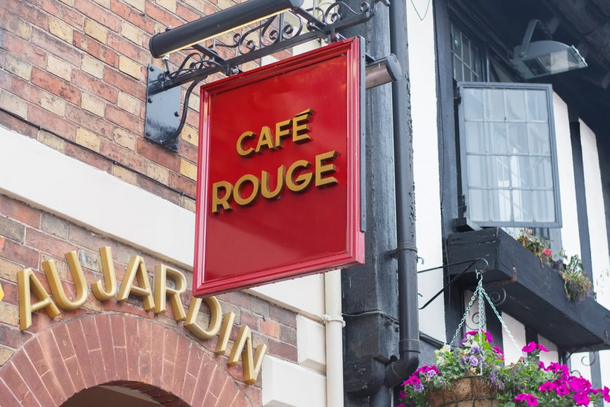 Cafe Rouge French Restaurant Stratford