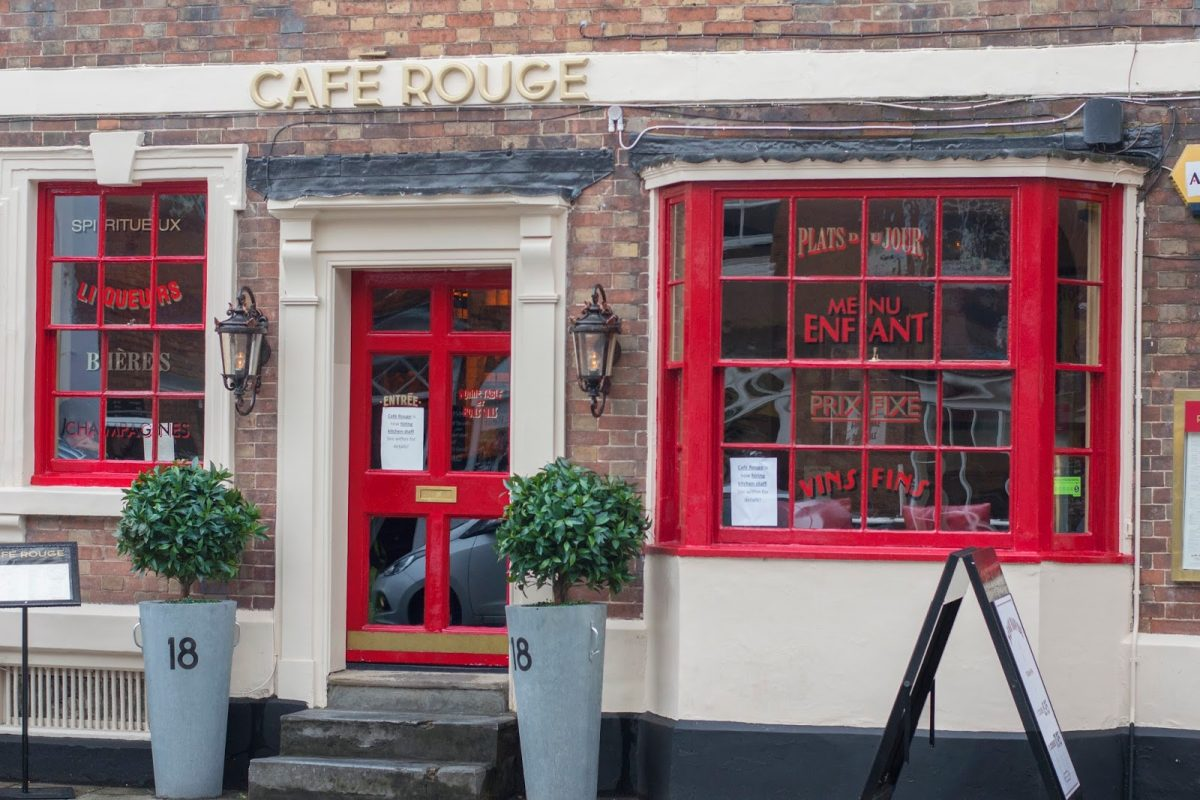 Cafe Rouge Stratford Sheep Street French