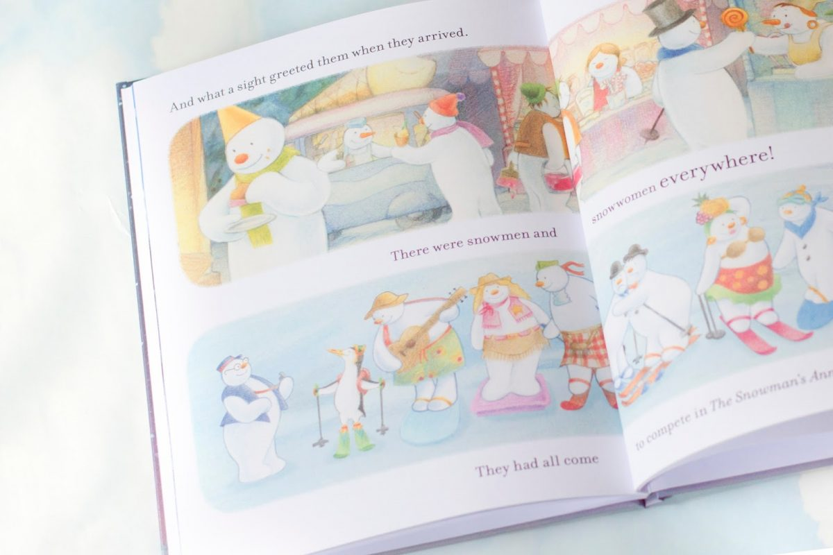 personalised Penwizard snowman and Snowdog Book review