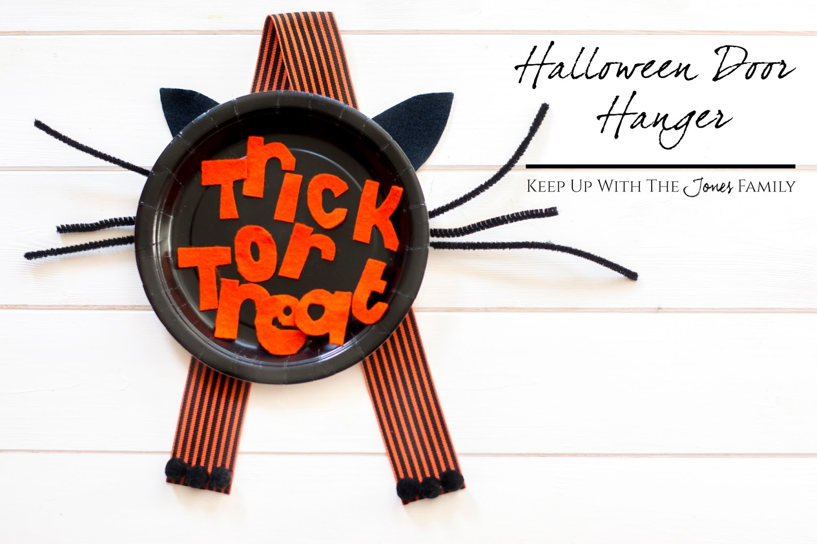 HALLOWE'EN DOOR HANGER CRAFT [BOSTIK BLOGGERS]