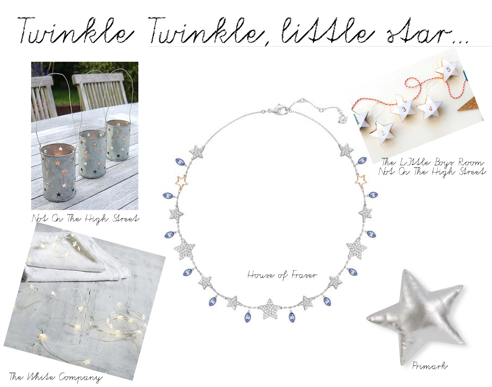 TWINKLE, TWINKLE LITTLE STAR…ON MY CHRISTMAS WISH LIST, YOU ARE