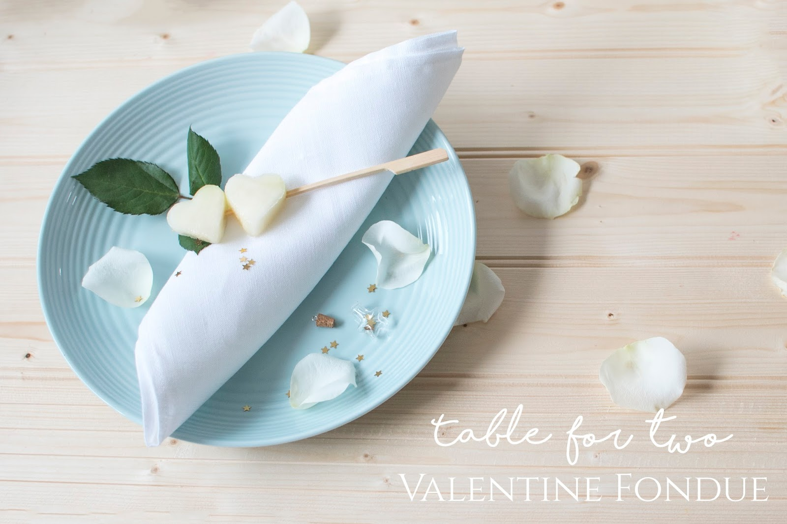 [A TABLE FOR TWO] VALENTINE FONDUE DATE NIGHT