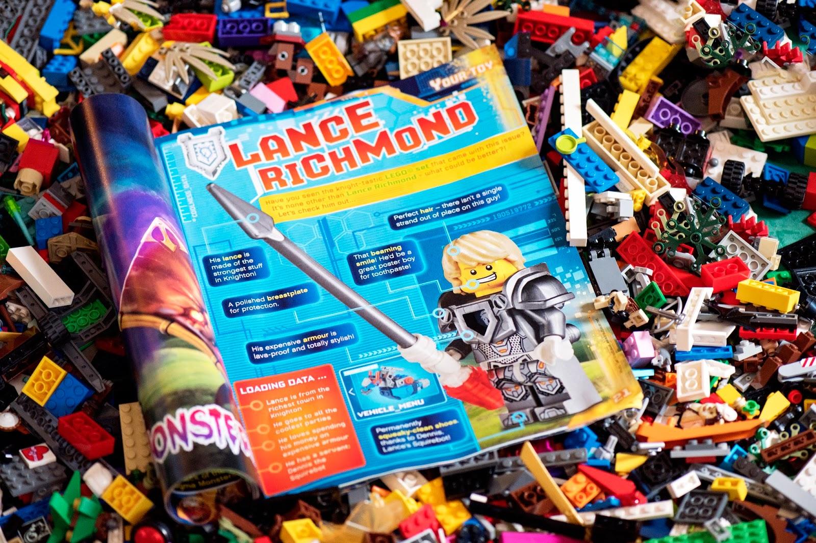 LEGO NEXO KNIGHTS: MAGAZINE LAUNCH