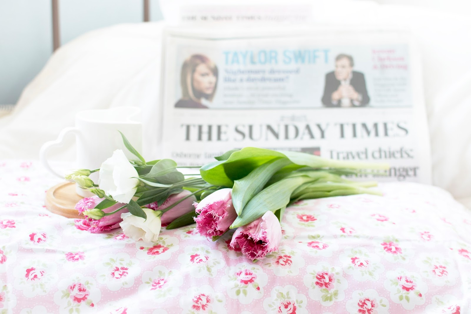 I'M STAYING IN BED: THE SUNDAY TIMES MAGAZINE