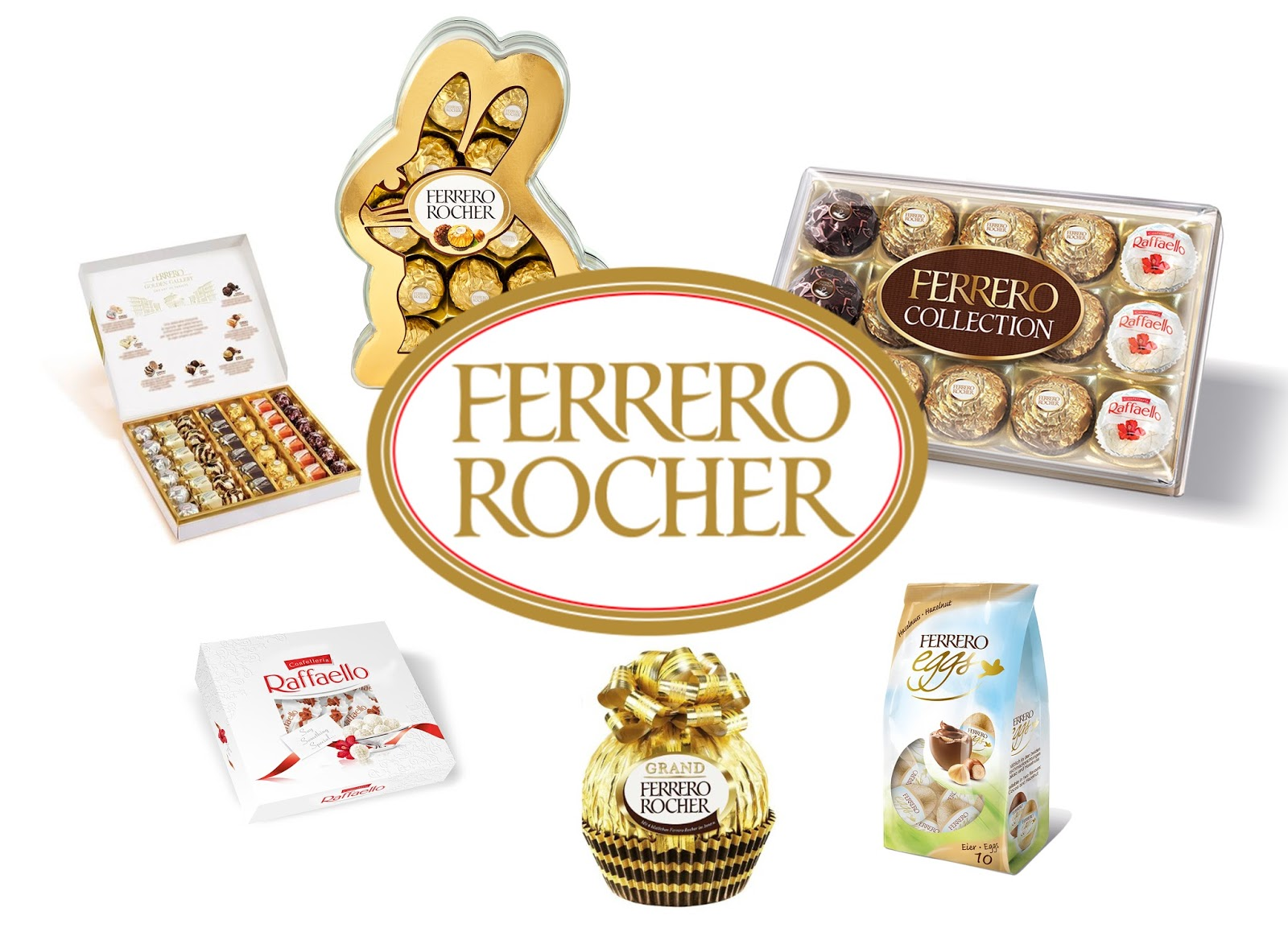 YES, WE ARE SPOILING YOU [FERRERO ROCHER EASTER CHOCOLATE COMPETITION]