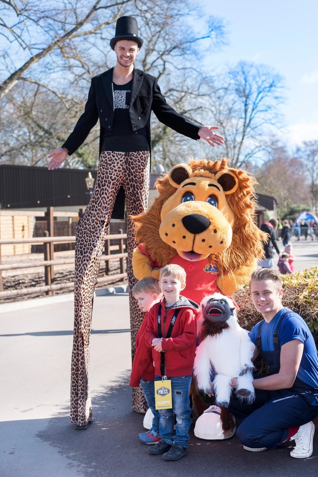 Drayton Manor Park and Zoo Tamarin Trail