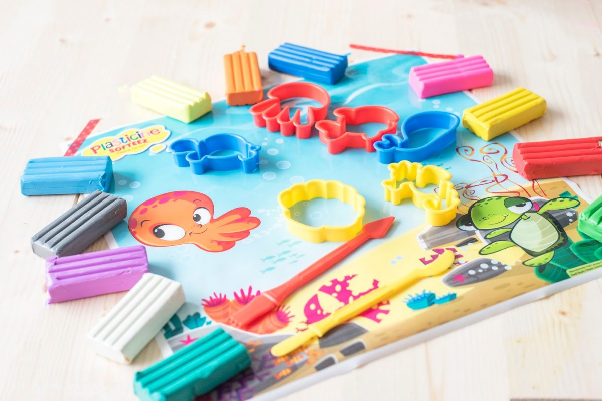 Plasticine Softeez Under the Sea