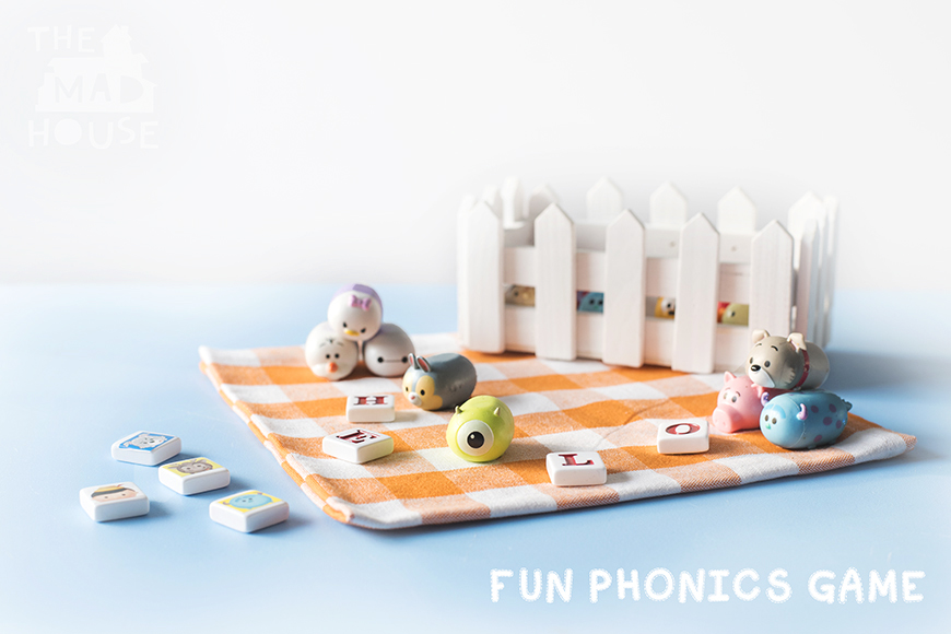 FUN PHONICS WITH DISNEY TSUM TSUMS