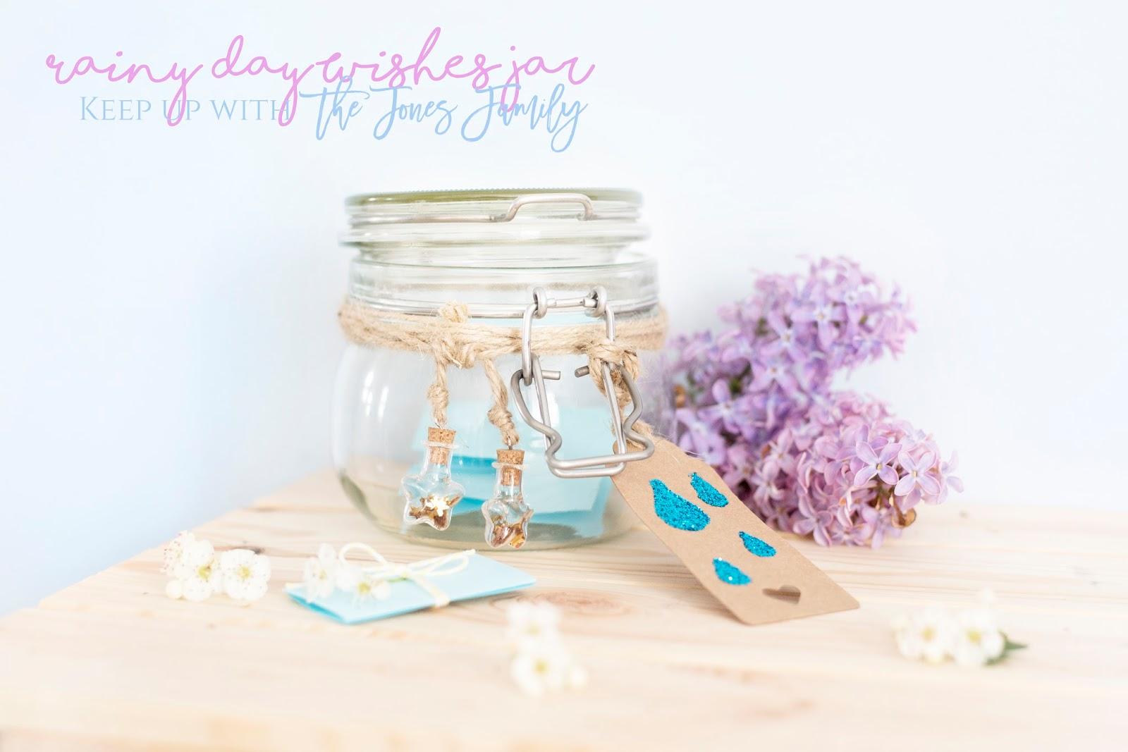 RAINY DAY WISHES JAR