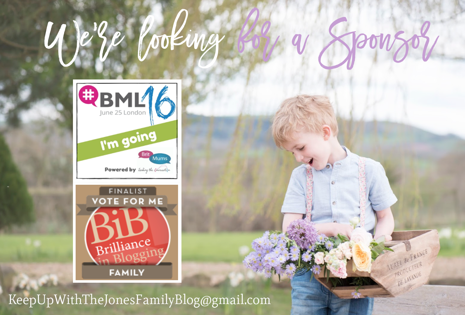 WE WOULD LOVE TO REPRESENT YOU! [BRITMUMS LIVE 2016]
