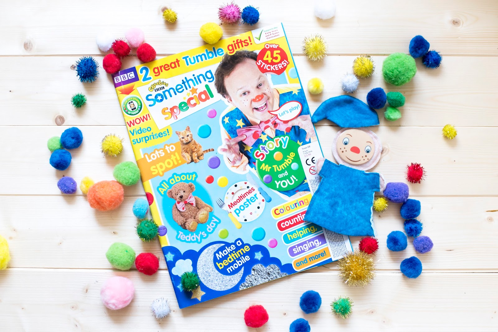 WE'RE ALL FRIENDS: MR. TUMBLE'S SOMETHING SPECIAL INTERACTIVE MAGAZINE