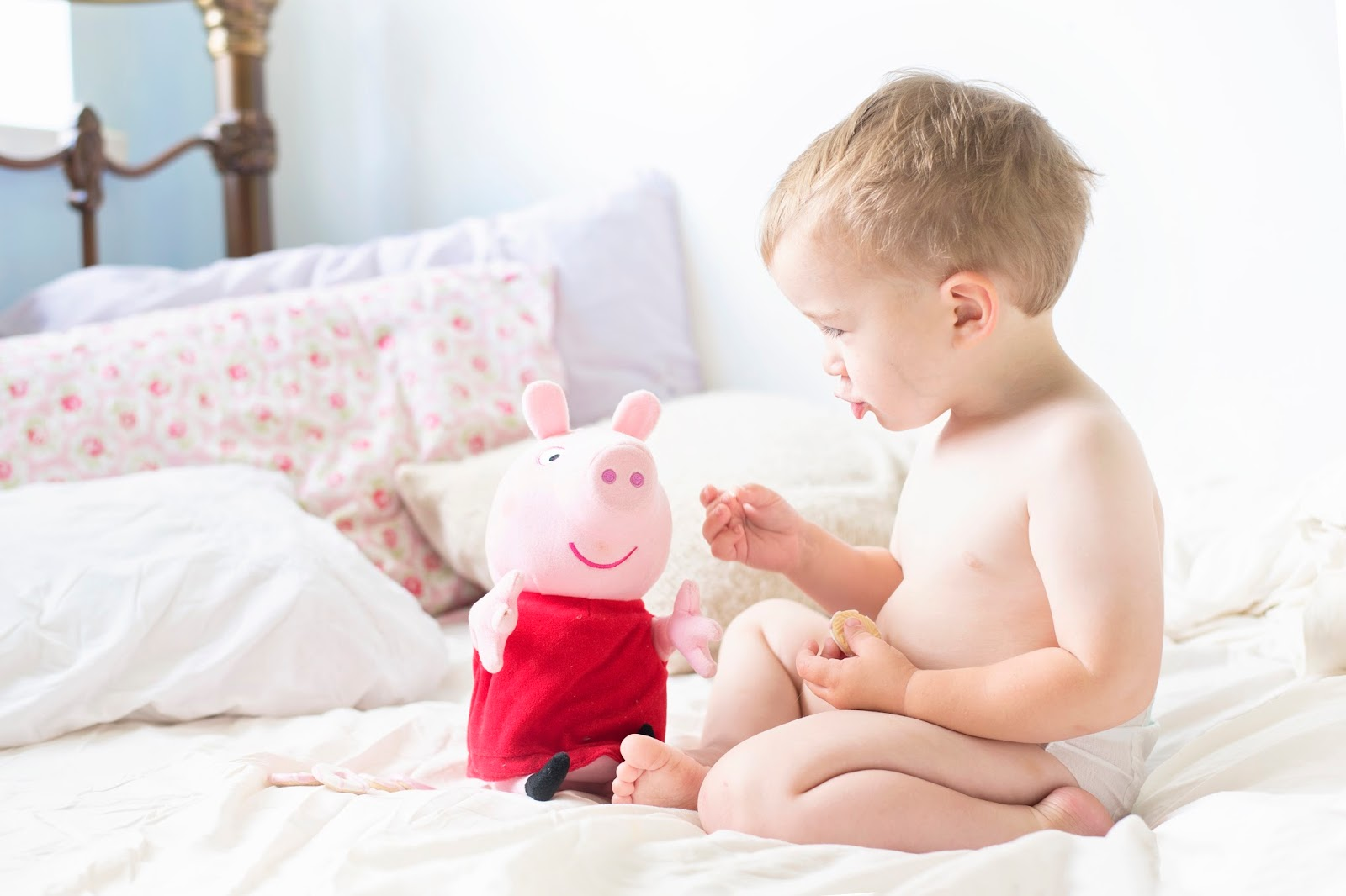 THE NEW PEPPA PIG TOYS: LAUGH WITH ME PEPPA