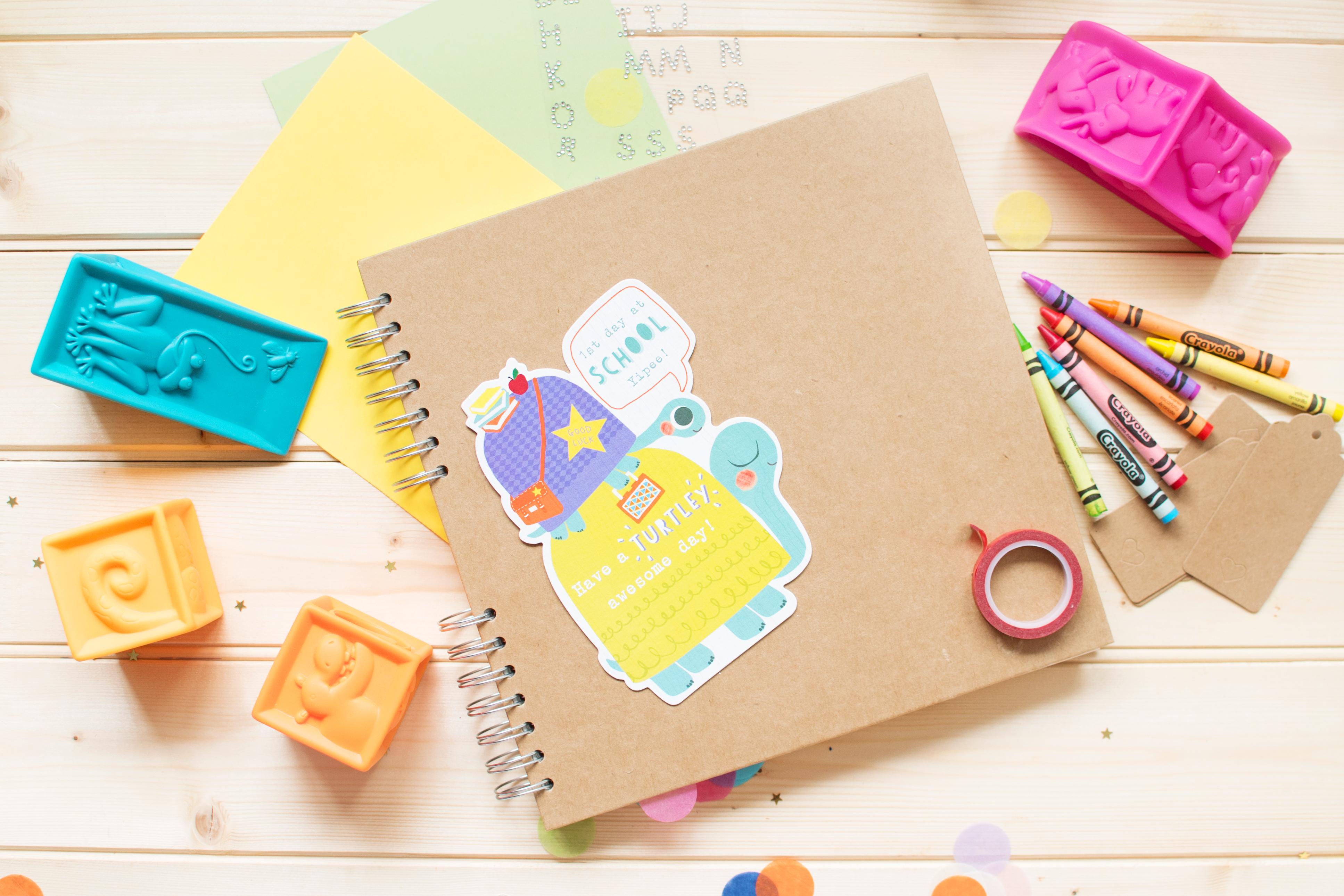 yearbook project scrapbook