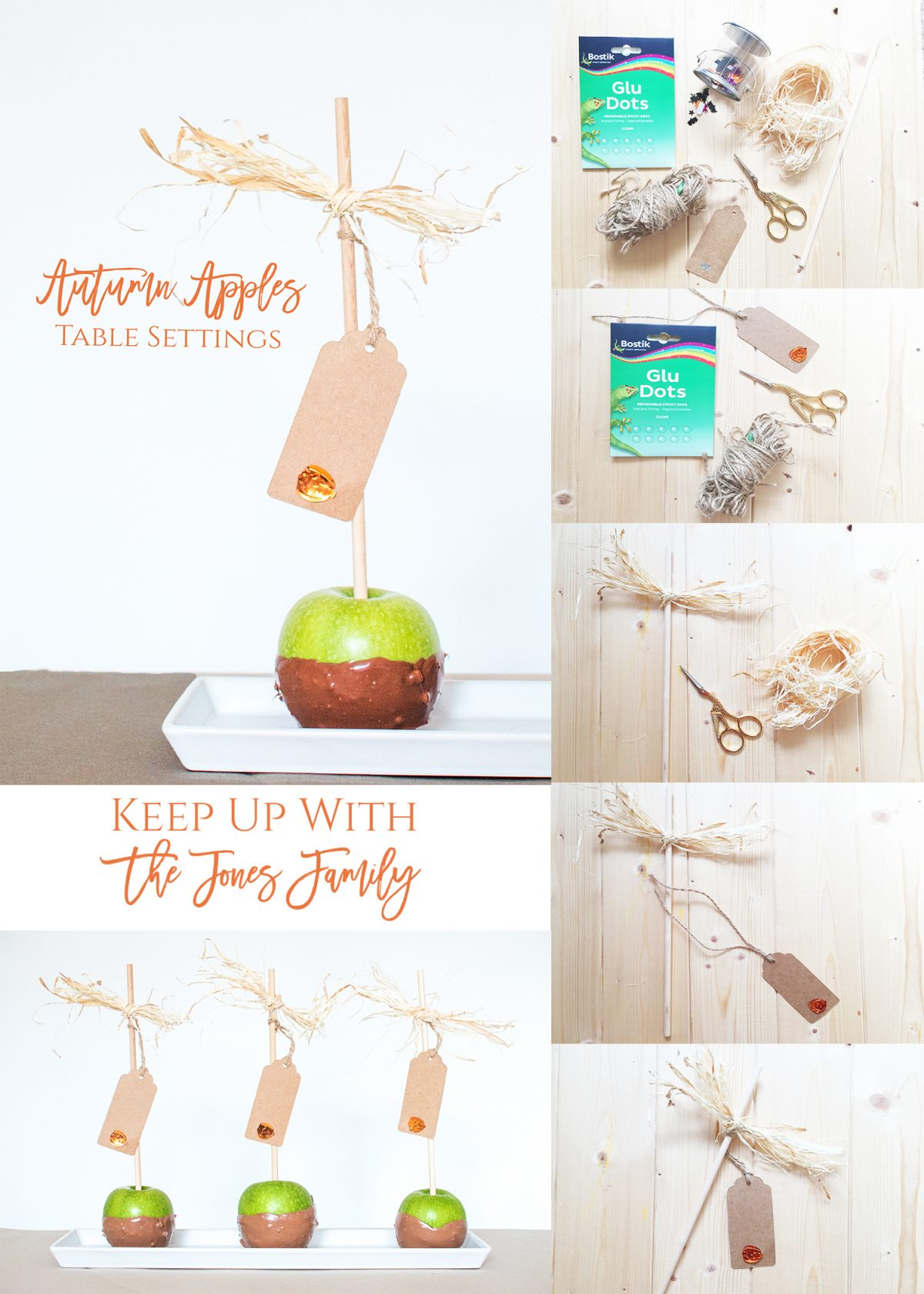 Autumn Apples Table Settings bostik bloggers