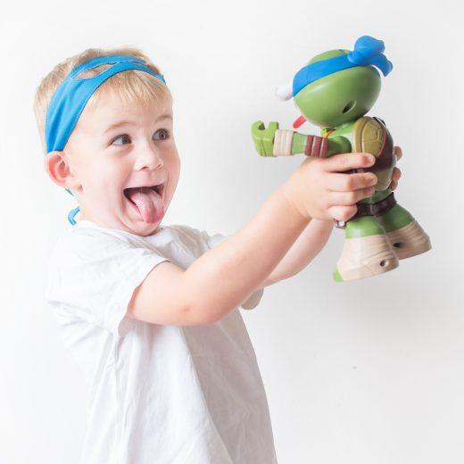 half shell heroes squeeze 'ems teenage mutant ninja turtles TMNT toys