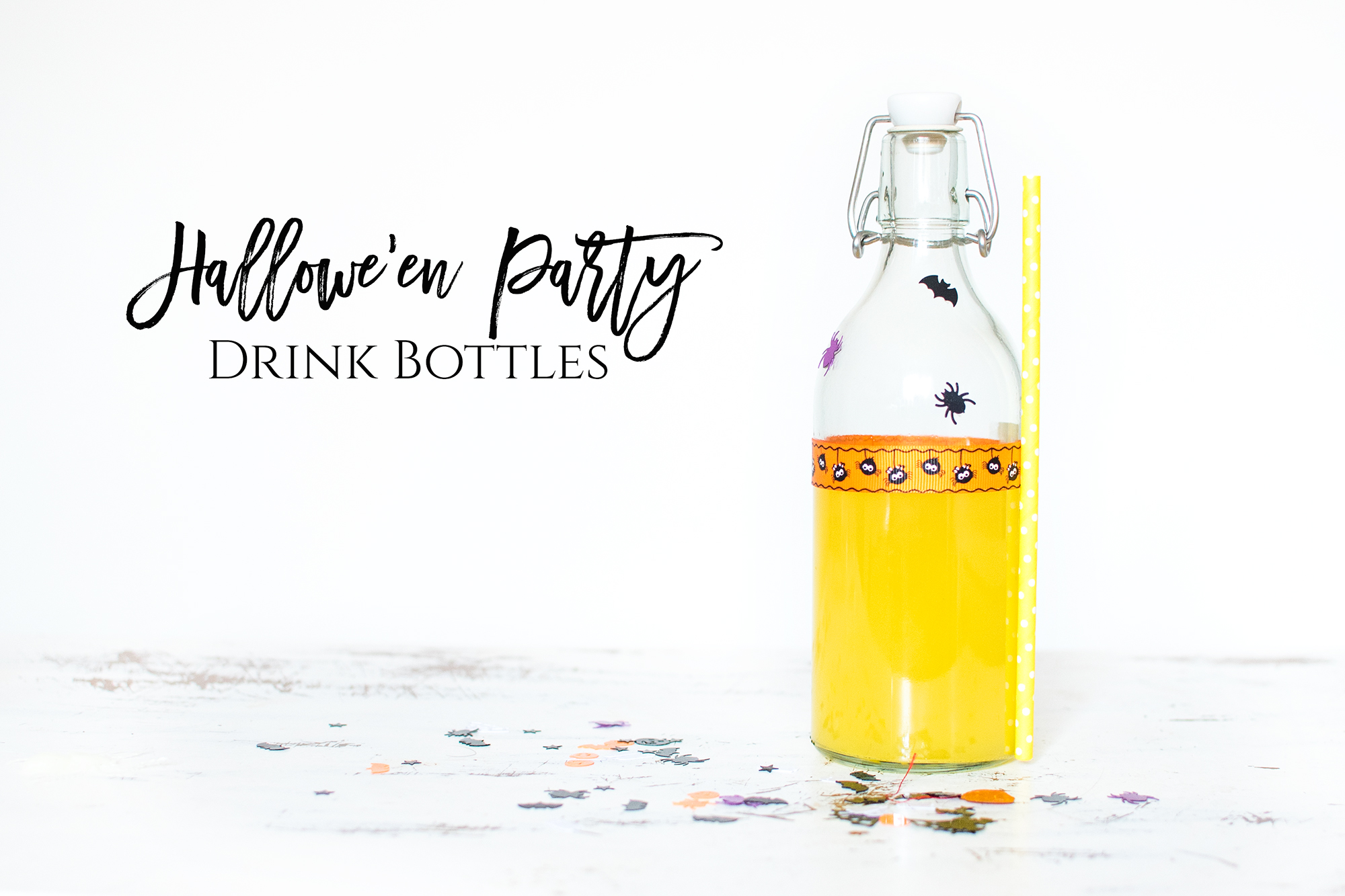 HALLOWE'EN PARTY DRINK BOTTLES