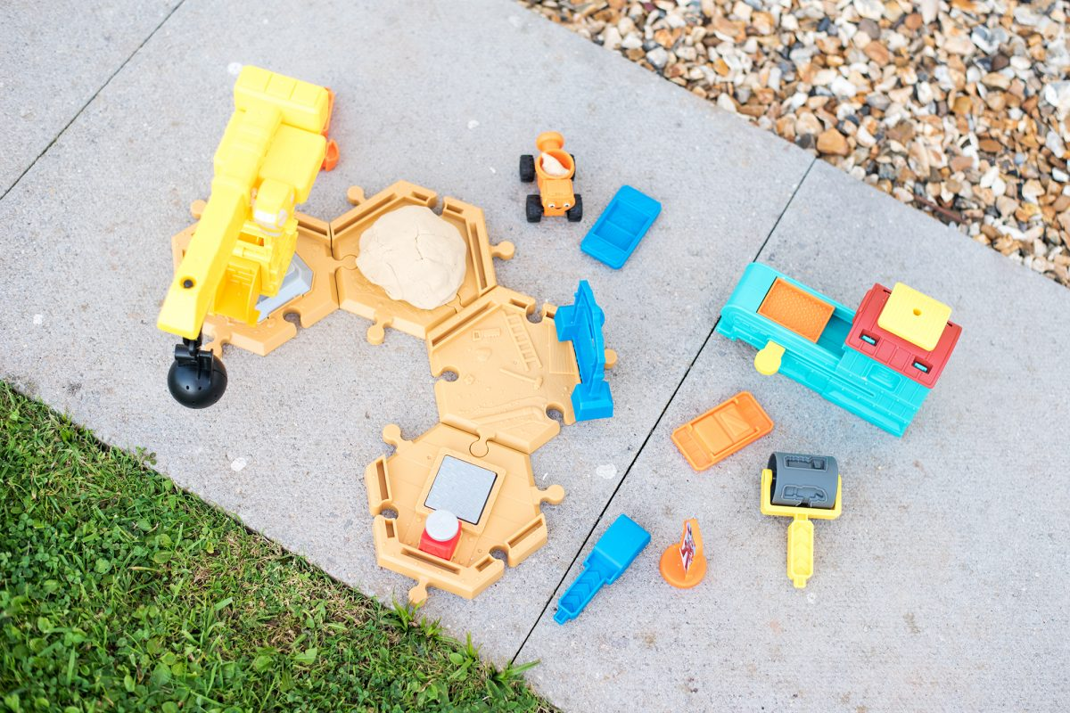 Bob the Builder Mash and Mold Construction Site Playset
