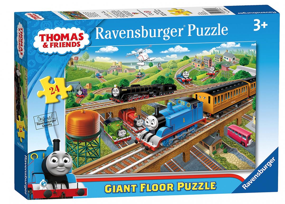 Thomas the Tank Engine Busy Day jigsaw