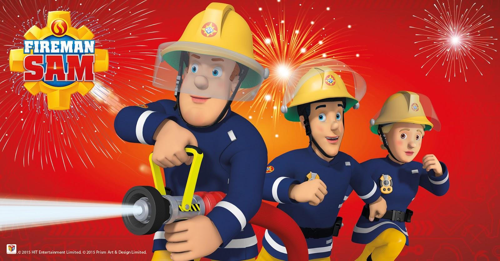 Fireman Sam's Safety Month Bonfire Fireworks