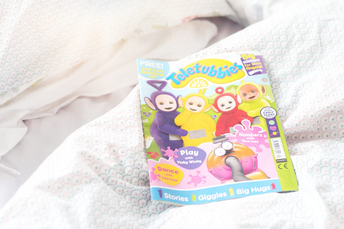 new Teletubbies magazine