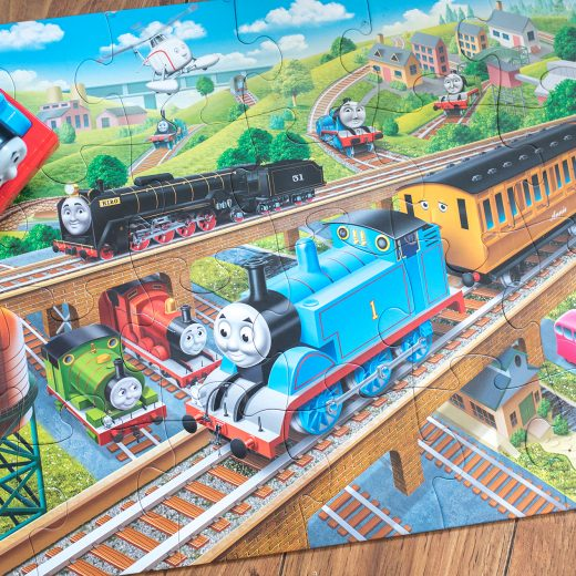 Thomas the Tank Engine giant floor Jigsaw puzzle