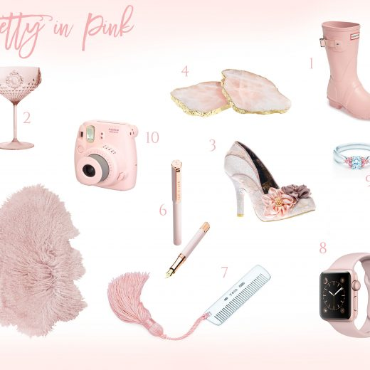 Valentine's day gift guide pretty in pink