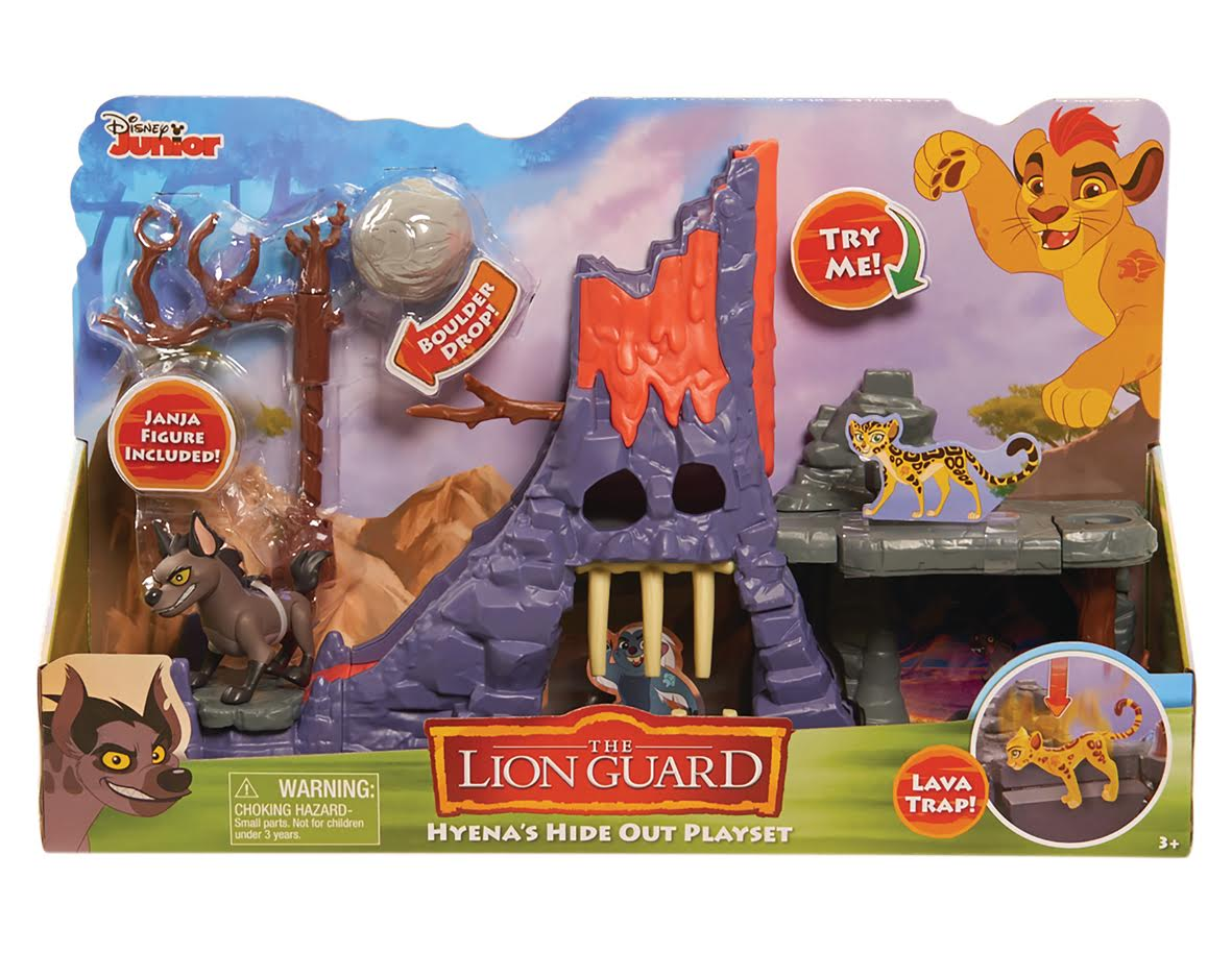 disney lion guard hyena playset